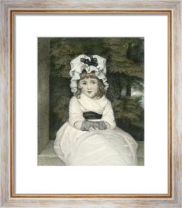 Penelope Boothby (Restrike Etching) by Sir Joshua Reynolds