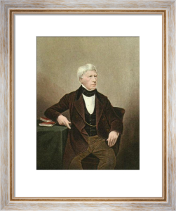 Henry Lord Brougham DCL FRS (Restrike Etching) by Anonymous