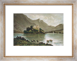 Kilchurn Castle, Loch Awe (Restrike Etching) by Anonymous