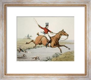 The Hunter (Restrike Etching) by Henry Alken