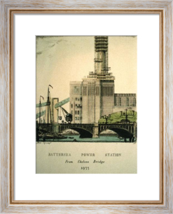 Battersea Power Station (Restrike Etching) by Anonymous