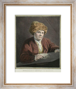 William Woollett (Engraver) (Restrike Etching) by John Keyse Sherwin