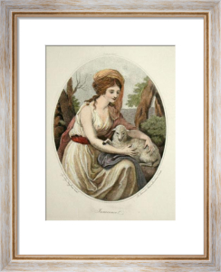 Innocence (Restrike Etching) by Angelica Kauffmann