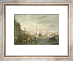 Grand Canal, Venice (Restrike Etching) by Joseph Mallord William Turner