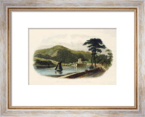 Narrow Water Castle, Co. Down (Restrike Etching) by Anonymous