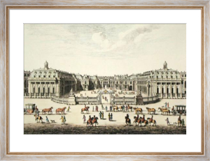 Versailles, Chasteau de (Restrike Etching) by Anonymous
