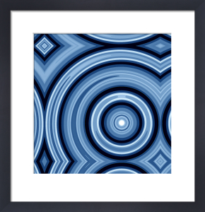 Blue Swirl by Erin Rafferty