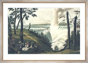 Falls of Niagara, Pl. VI (Restrike Etching) by L. Col Cockburn