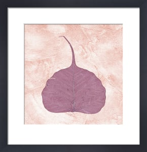 Purple Leaf I by Erin Rafferty