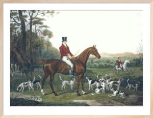 Master Huntsman John Mytton (Restrike Etching) by William Webb