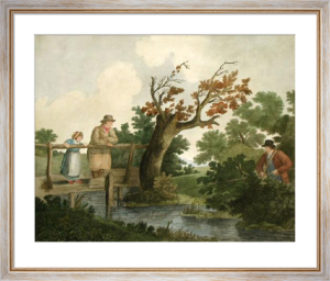Summer's Amusement (Restrike Etching) by George Morland