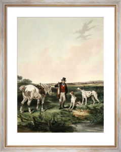 The Game Secured (Restrike Etching) by William Joseph Shayer