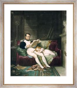 Napoleon & Son (Restrike Etching) by Karl Steuben