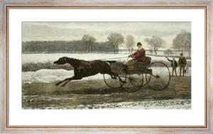 First Course (Restrike Etching) by Harrington Bird