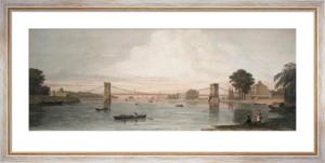 Hammersmith Bridge (Restrike Etching) by Anonymous