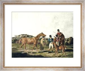 The Foal (Restrike Etching) by Henry Alken