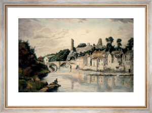 Barnard Castle (Restrike Etching) by Anonymous