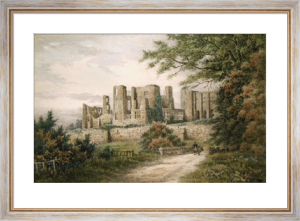 Kenilworth Castle (Restrike Etching) by Anonymous