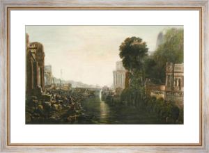 The Building of Carthage (Restrike Etching) by Joseph Mallord William Turner