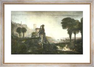 Caligula's Palace (Restrike Etching) by Joseph Mallord William Turner