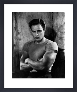 Marlon Brando (A Streetcar Named Desire) by Hollywood Photo Archive