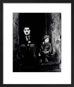 Charlie Chaplin (The Kid) by Hollywood Photo Archive