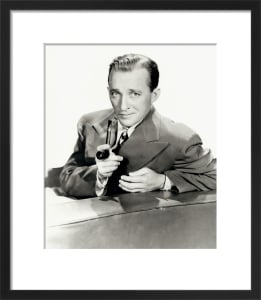 Bing Crosby by Hollywood Photo Archive