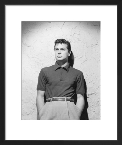 Tony Curtis by Hollywood Photo Archive