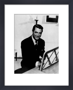 Cary Grant (The Awful Truth) by Hollywood Photo Archive