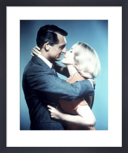 Cary Grant and Eva Marie Saint (North by Northwest) by Hollywood Photo Archive