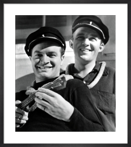 Bob Hope with Bing Crosby (Road to Singapore) by Hollywood Photo Archive