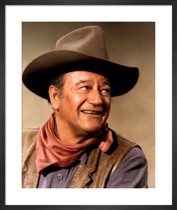 John Wayne (Chisum) by Hollywood Photo Archive