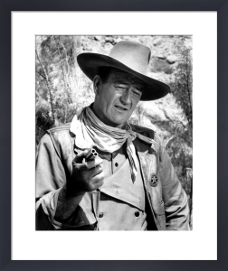 John Wayne (The Commancheros) by Hollywood Photo Archive