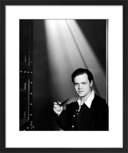 Orson Welles by Hollywood Photo Archive