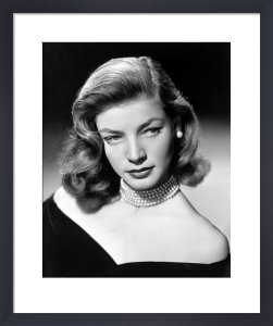 Lauren Bacall by Hollywood Photo Archive