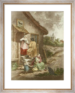 The Dram (Restrike Etching) by George Morland
