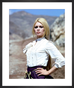 Brigitte Bardot (Shalako) by Hollywood Photo Archive