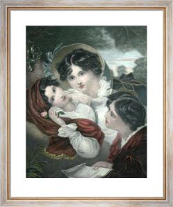 Proposal (Restrike Etching) by George Henry Harlow