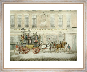 The Cambridge Telegraph (Restrike Etching) by James Pollard