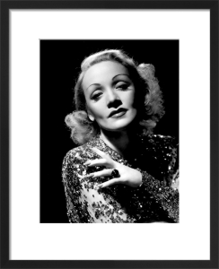 Marlene Dietrich (A Foreign Affair) by Hollywood Photo Archive