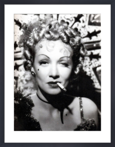 Marlene Dietrich (Destry Rides Again) by Hollywood Photo Archive