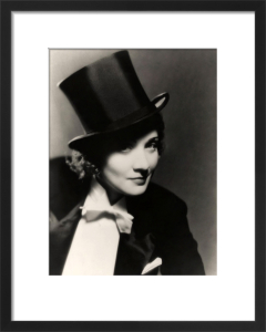 Marlene Dietrich (Morocco) by Hollywood Photo Archive