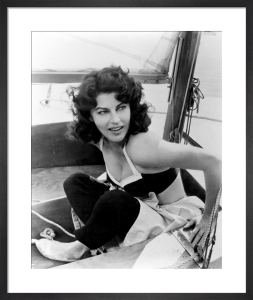 Ava Gardner by Hollywood Photo Archive