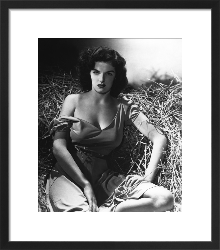 Jane Russell The Outlaw Art Print By Hollywood Photo Archive