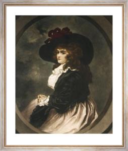 Amelia (Restrike Etching) by John Opie