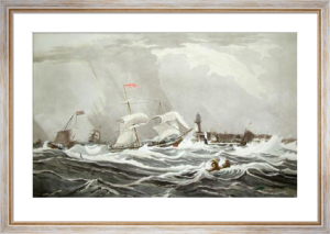 View of Ramsgate (Restrike Etching) by W.J. Huggins