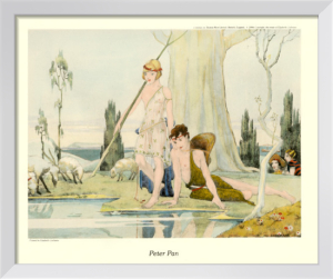 Peter Pan (Gravure etchings) by Elizabeth Cochrane