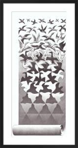 Liberation by M.C. Escher