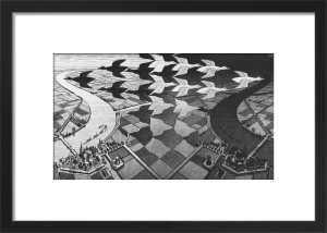 Day and Night by M.C. Escher