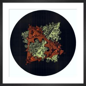Double Planetoid by M.C. Escher
